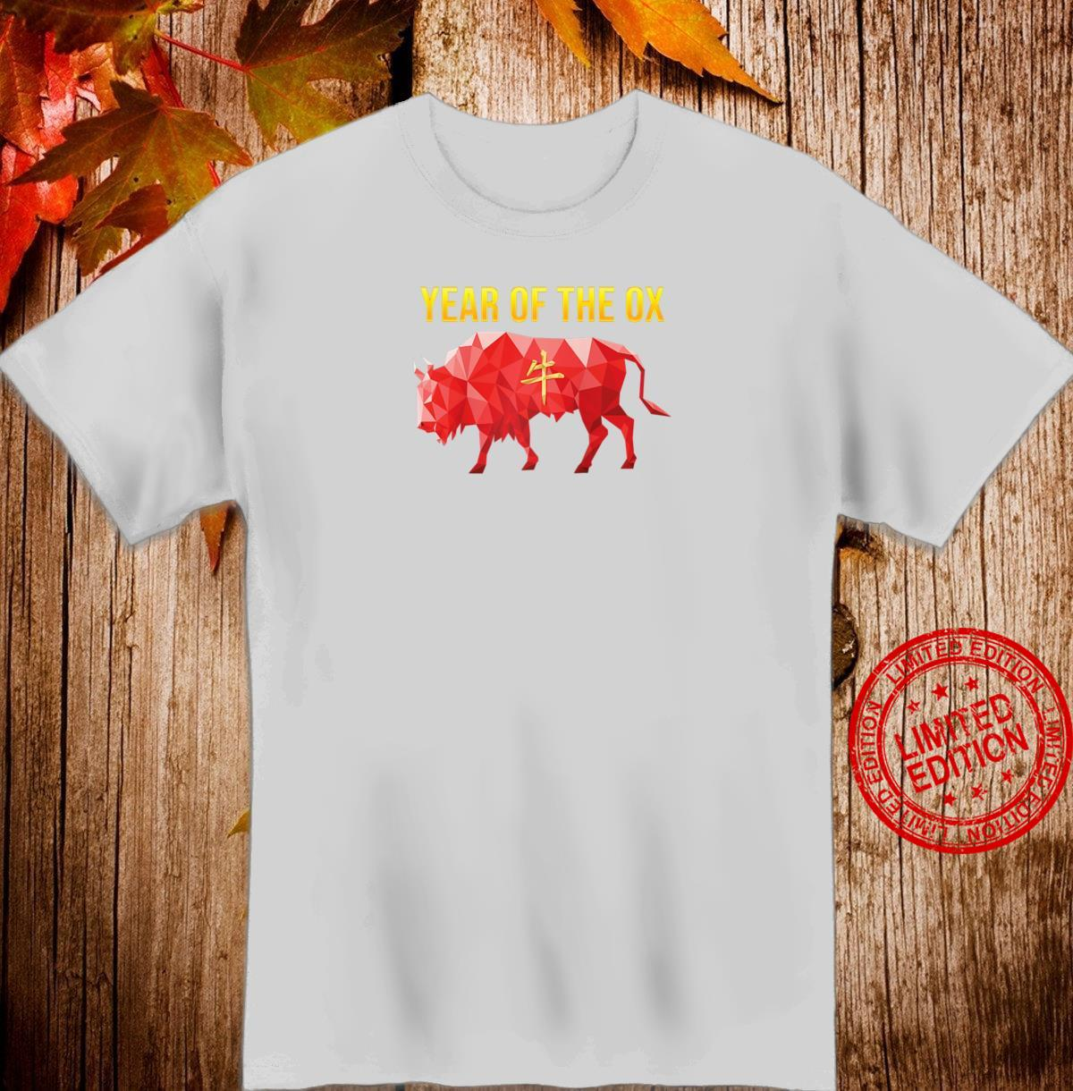 Year of the Ox Chinese New Year 2021 Chinese Horoscope Shirt