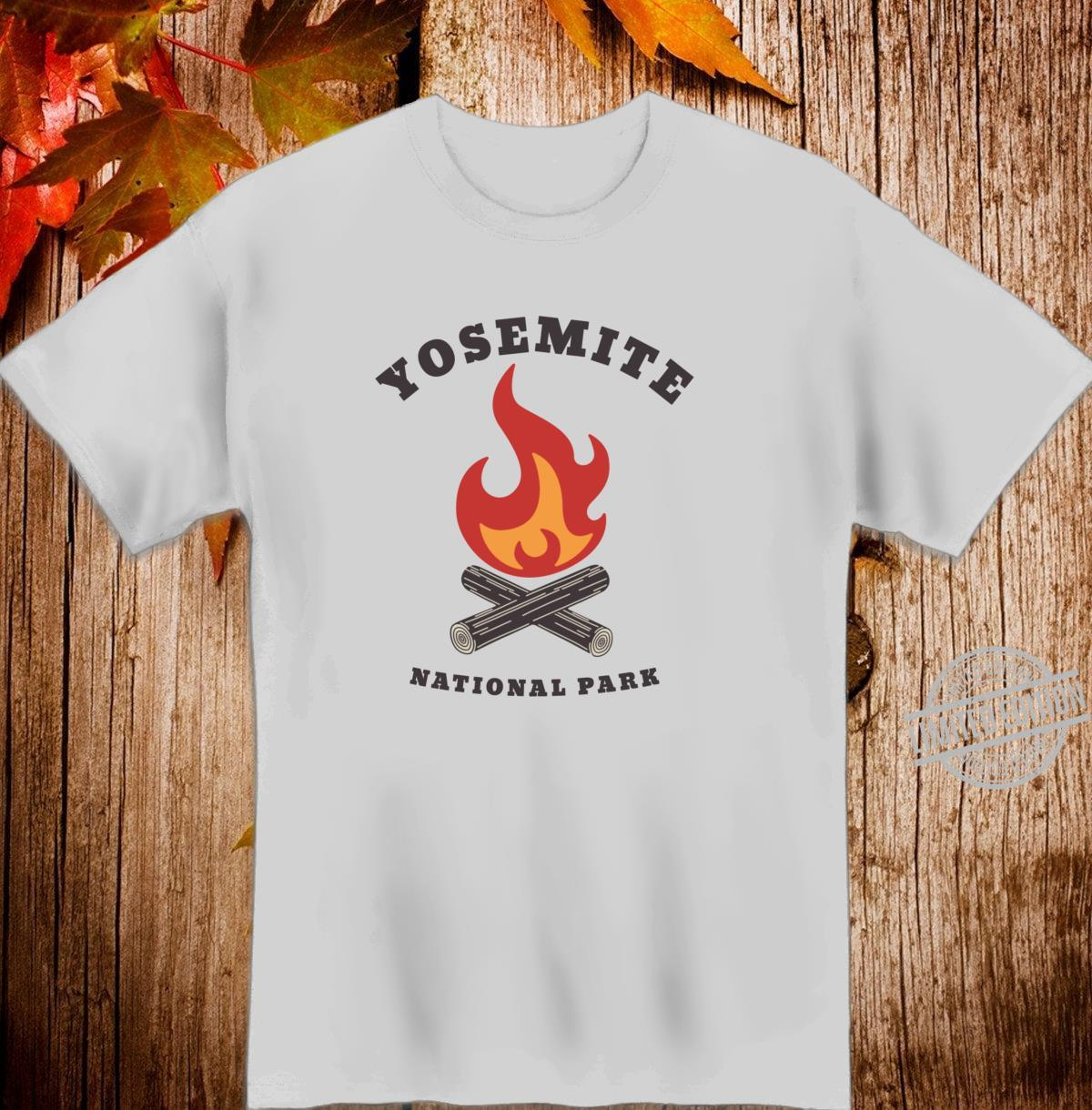Yosemite National Park California Camping Souvenir Shirt