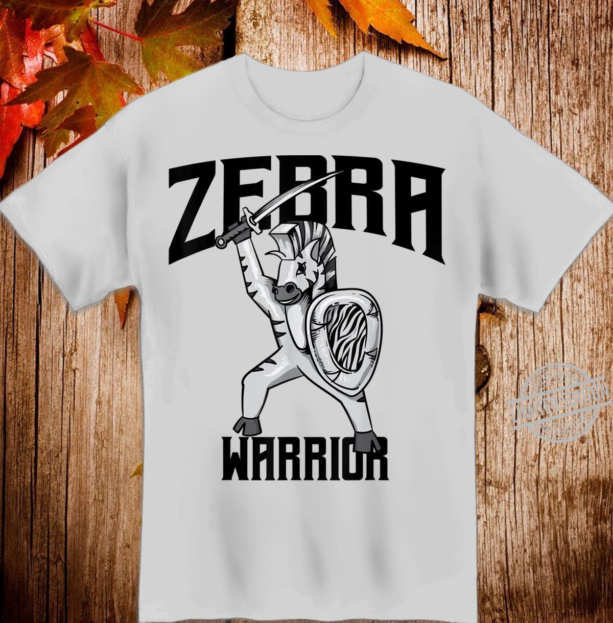 Zebra Warrior Cute EDS Awareness Disorder Shirt