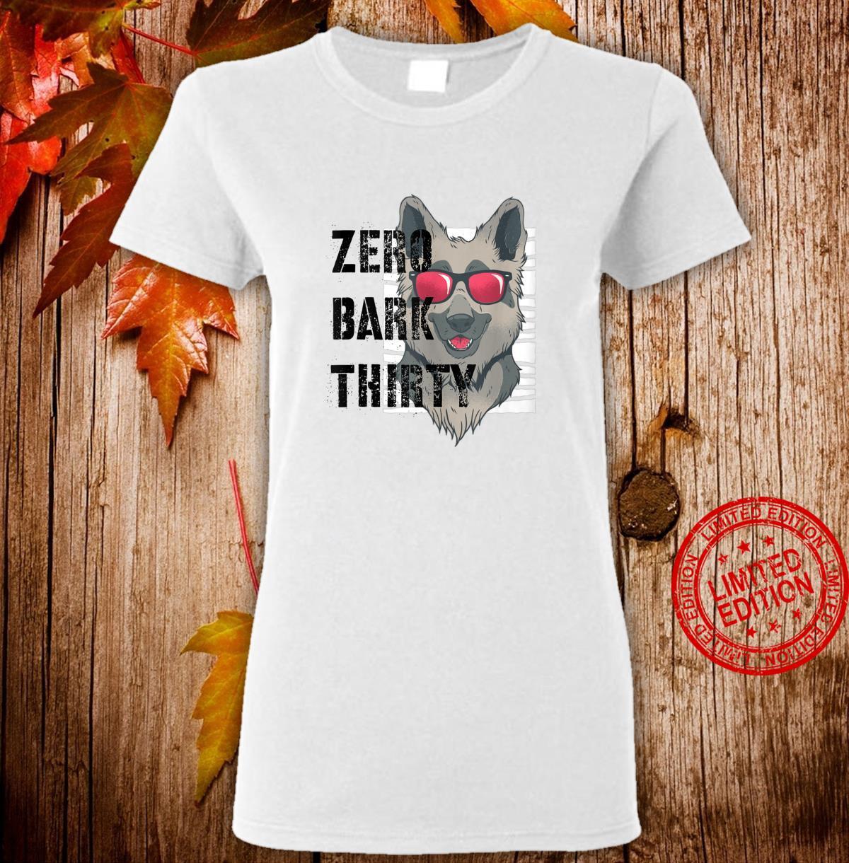 Zero Bark Thirty K9 Military Dog Police Hero Shirt ladies tee