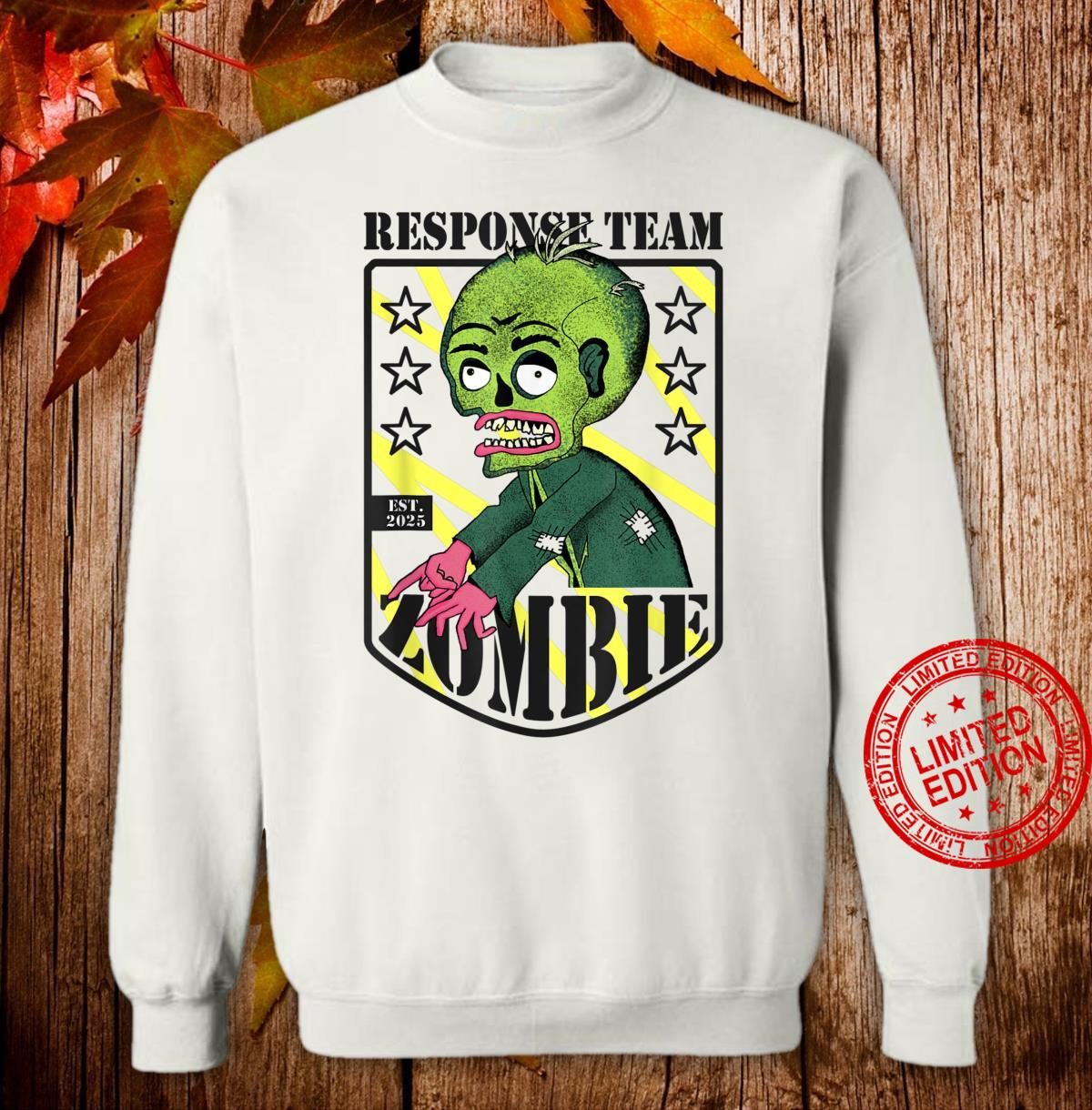 Zombie Response Team Halloween Shirt sweater